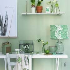 how to decorate office. Apple Green Home Office How To Decorate With