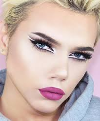 thomas halbert now here s a male gaze that we can totally get on board with male makeup artist thomashalbert s artful eye makeup pretty much guarantees