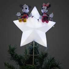 Disney Mickey And Minnie Mouse Light Up Holiday Tree Topper Mickey And Minnie Mouse Light Up Holiday Tree Topper