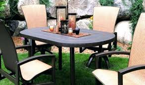 stone table top patio furniture home design fancy round tops perth amusing