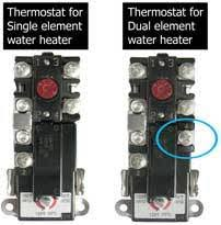 electric water heater thermostat wiring diagram Water Heater Wiring Diagram Dual Element water heater wiring diagram dual element · how to select and replace thermostat on electric water heater wiring diagram for dual element water heater