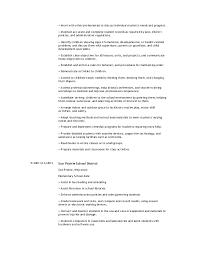 2 child development resume