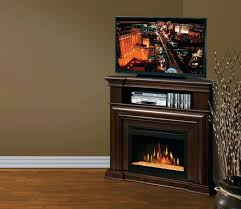 electric fireplace corner entertainment center espresso in electric fireplace entertainment center clearance plan