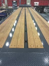 jpg apitong trailer decking equipment hauler trailer wood deck installation 1