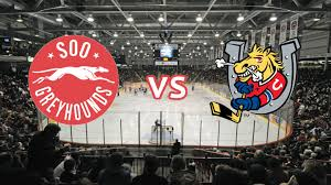 Barrie Colts Arena Seating Chart Soo Greyhounds Vs Barrie Colts Gfl Memorial Gardens