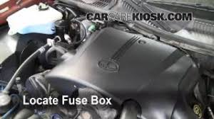 interior fuse box location lincoln town car  replace a fuse 1998 2011 lincoln town car