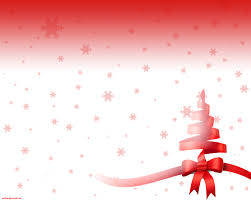 Simple Ribbon Christmas Tree Backgrounds For Powerpoint Christmas