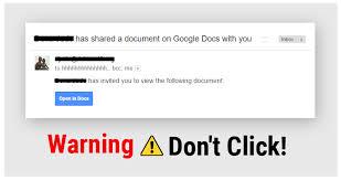Phishing Scam Google Docs Phishing Scam Shring Technologies