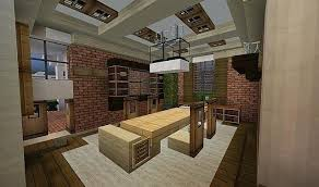 How To Make A Good Kitchen In Minecraft Full Modern Kitchen By On