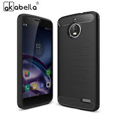 motorola 1766. akabeila silicone phone case for motorola moto e4 xt1766 xt1763 e (4th gen.) europe version cover carbon fiber brushed bag-in fitted cases from 1766 o