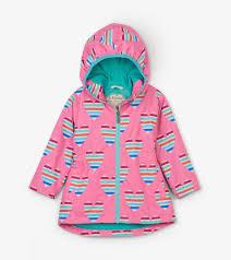 Hatley Raincoat Size Chart Multicolour Hearts Microfiber Rain Jacket