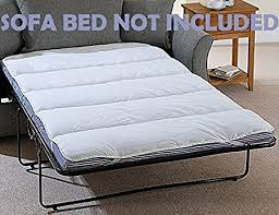 snugglemore mattress topper bunk bed double pull out sofa with design 18