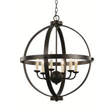 old world large openwork candle pendant