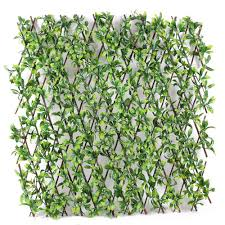 Artificial Trellis With Lights Wholesale Plastic Leaf Artificial Wooden Expanding Trellis