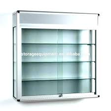 small glass display cabinet wood and glass display cabinet wall mounted curio cabinet display mounted curio