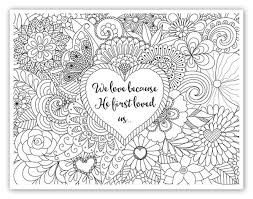Small Picture Growing through prayer for kids Bible verse coloring sheets