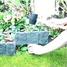stone border edging garden borders and edging garden border stones decorative garden borders stone effect edging