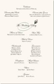 sample wedding ceremony program rose wedding program examples wedding program wording wedding