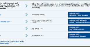 Microsoft Cert Voucher Purchase Vouchers For Microsoft Exams
