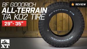 Jeep Tire Size Chart Choosing The Best Jeep Wrangler Tires For Off Road On Road