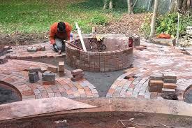diy magnificent patio  nice design brick fire pits exquisite attractive diy brick fire pit