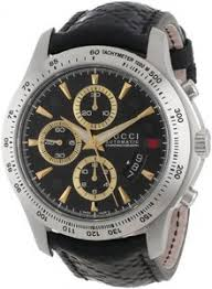 gucci g timeless watches lowest gucci price ya126237 gucci men watches automatic chronograph date black leather ya126237