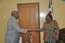 foreign minister ra receives letters of accreditation from new au ambador ibrahim ra ures of government s full cooperation