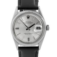 used rolex watches used rolex watches for we buy sell pre owned vintage original rolex mens stainless steel 1601 datejust watch silver stick dial