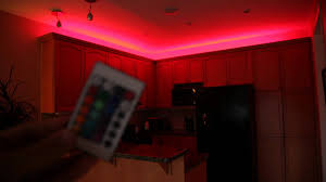 Led Bedroom Lights Decoration Rgb Led Strip Youtube