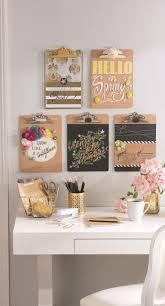 diy office wall decor. office organization ideas diy clipboard wall art diy decor i