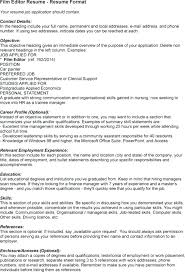Sample Copy Editor Resume Resume Examples Resume Templates Word Free ...