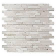 inoxia sdtiles himalayan 11 75 in x 11 6 in stone adhesive wall tile backsplash in
