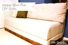twin bed sofa make your own sofa twin bed sofa sleeper