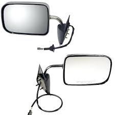 Pickup Truck Mirrors Dodge Pickup Truck Power Chrome Mirror Pair ...
