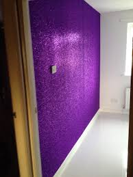 sparkle paint for walls23 Glorious Sparkle Wall Ideas  Glitter accent wall Gloss spray
