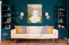 Bedroom Eclectic Blue Living Room The Spruce Blue Living Room Ideas