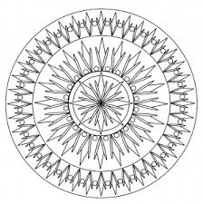 Small Picture Mandalas Coloring pages for adults JustColor Page 2