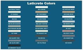 Laticrete Color Chart Laticrete Grout Retailers Quantumchange Co