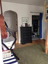 studio apartment room back