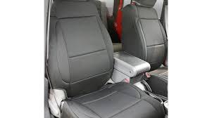 neoprene front seat covers black 07