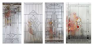 Decorative Door Designs Clopay Adds New Decorative Glass Options to Entry Door Line 26