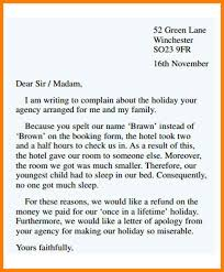 Formal Letters Of Complaint Letter Of Complaint Insaat Mcpgroup Co