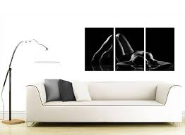 Good Sensual Woman Canvas Wall Art Set Of Three For Your Bedroom Within Most  Popular Sensual Wall