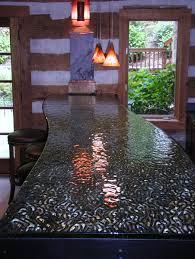glass countertop for bar