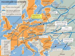 Турецкий поток Южный поток Севереый поток Схема газопродов  Схема поставок российского газа в Европу Голубой поток Южный поток Севереый поток