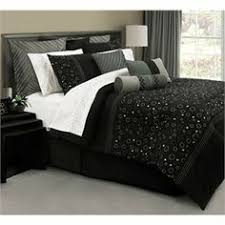 Discount Comforter Sets   Cheap Comforter Sets   Discount Bedding    Universe Black And Silver Bedding