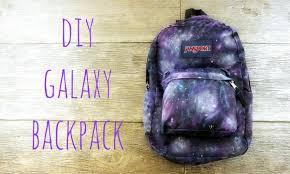 How To Design Your Backpack Diy Galaxy Backpack For Back To School