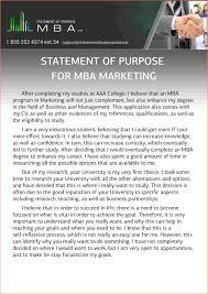 statement of purpose mba registration statement  statement of purpose mba statement of purpose for mba marketing sample jpg