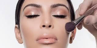 kim kardashian makeup routine you