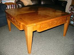 tapered legs add to the detailing of this red oak coffee table wood uk full size